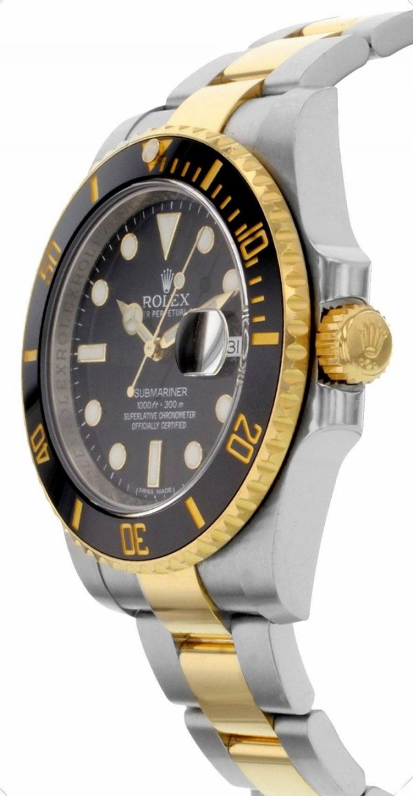 Rolex Submariner 116613LN 40MM Black Dial Mens Watch