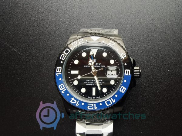 Rolex Gmt-master 116710 Oyster Bracelet And Black Dial For Men 40 Mm Watch