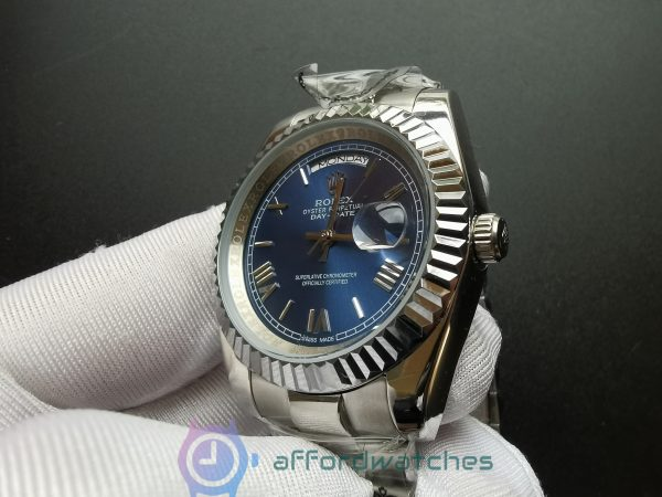 Rolex Day-date 228239 18kt White Gold Blue Dial 40mm For Men Watch