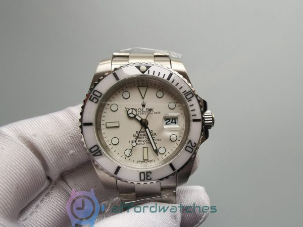 Rolex Submarine 116610 40mm Stainless Steel Green And Silver For Men Watch