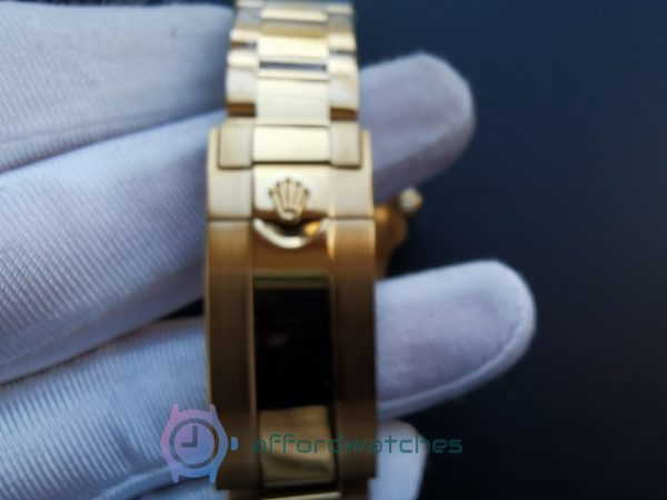 Rolex Submariner 116618lb 40 Mm 18kt Yellow Gold Blue Dial For Men Watch