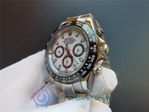Rolex Daytona 116500 White Dial Oystersteel Case 116500 40 Mm For Men Watch